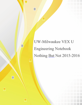 Engineering Notebook 2015-2016